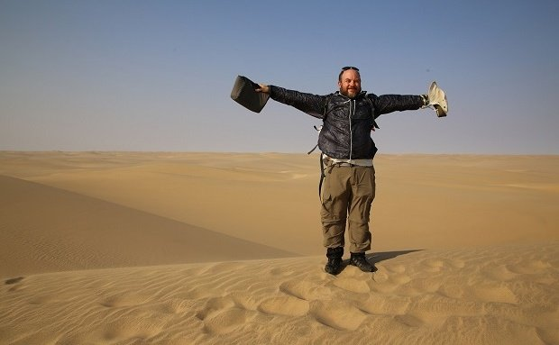 Hike the Namib100 with Erns Grundling