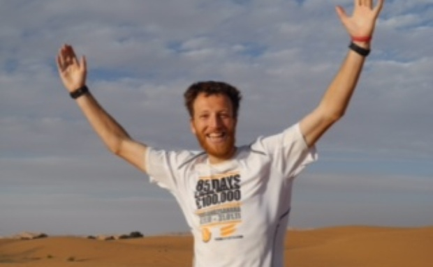 MURRAY AND CAMPBELL START EPIC TRAVERSE ACROSS NAMIB DESERT
