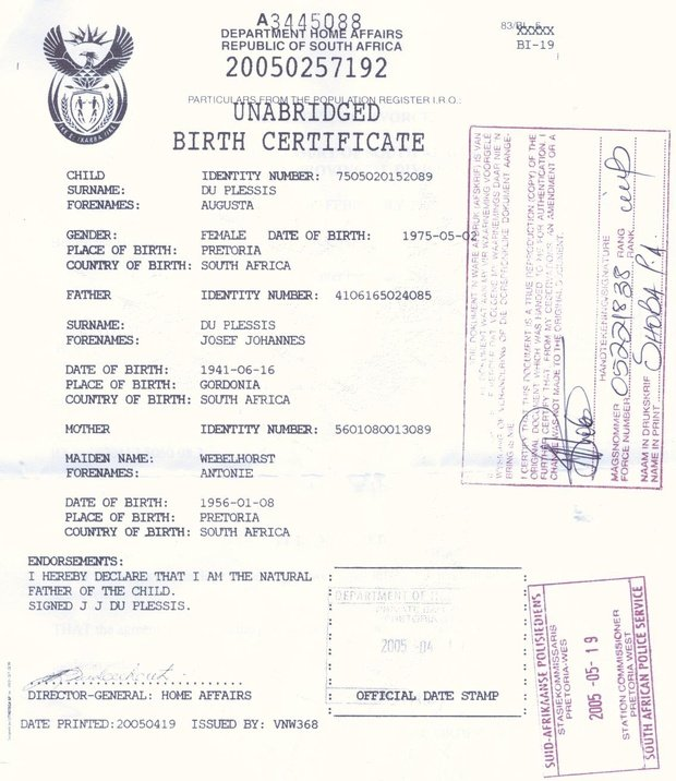Birth Certificate For Under 18s Required For Travel Live The Journey