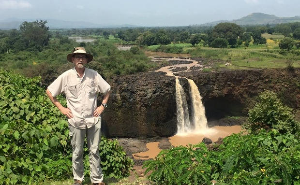 Dave Pepler reis saam met Live the Journey in Ethiopie